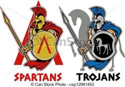 Trojan clipart shield