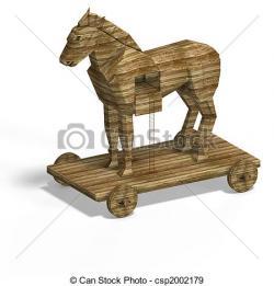 Trojan Horse clipart trogan