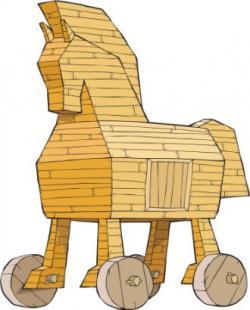 Trojan Horse clipart trojan war