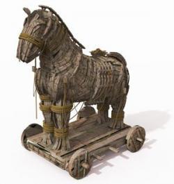 Trojan Horse clipart troy