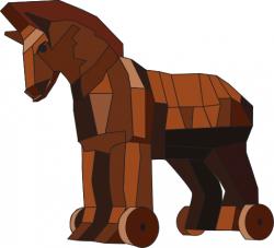 Trojan Horse clipart troyan