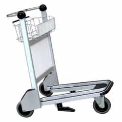 Airport clipart baggage cart