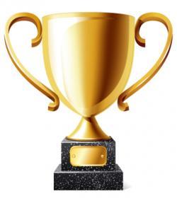 Winning clipart championship trophy