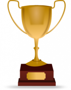 Moving clipart trophy