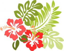 Tropics clipart jungle flower