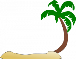 Resort clipart palm tree beach