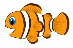Clownfish clipart animated