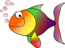 Fins clipart happy fish