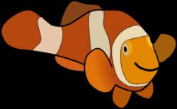 Clownfish clipart cartoon