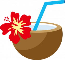 Tropical clipart aloha