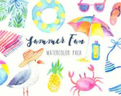 Water Color clipart child artist