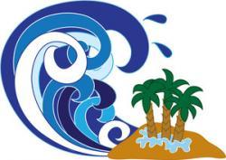 Tsunami clipart tropical storm