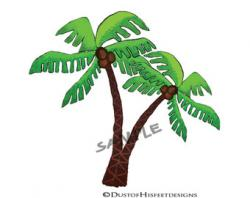 Tropics clipart coconut tree