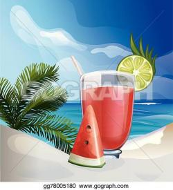 Tropics clipart tropical cocktail