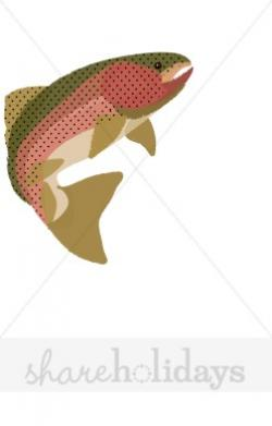 Trout clipart happy