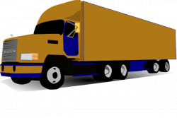 Truck clipart 18 wheel