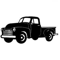 Chevrolet clipart silhouette