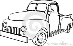 Ford clipart old pickup truck