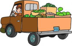 Loading clipart farm truck
