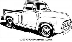 Ford clipart antique truck