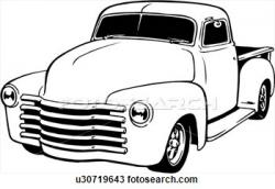 Chevrolet clipart classic truck