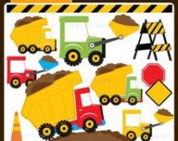 Truck clipart construction birthday