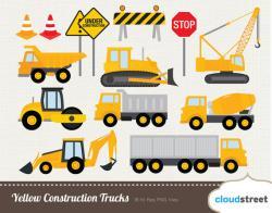 Truck clipart construction truck