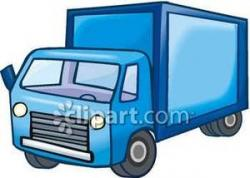 Truck clipart delivery truck