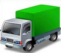 Truck clipart distribution truck