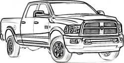 Truck clipart dodge
