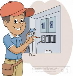 Truck clipart electrician