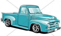 Truck clipart ford pickup truck