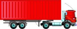 Container clipart truck container