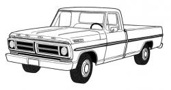 Chevrolet clipart ford pickup
