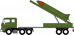 Truck clipart missile