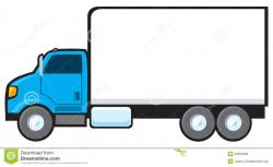 Vehicle clipart delivery truck