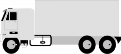 Truck clipart side view