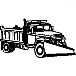 Truck clipart snow plowing