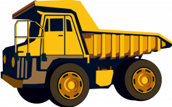 Excovator clipart construction truck