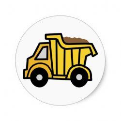 Classics clipart dump truck