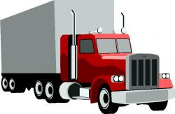Container clipart transport truck