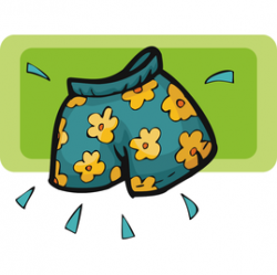 Teal clipart trunk
