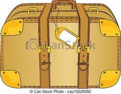 Suitcase clipart trunk