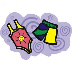 Sandal clipart summer shorts