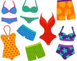 Bikini clipart swimwear