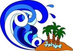 Tsunami clipart