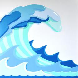 Shoreline clipart tide