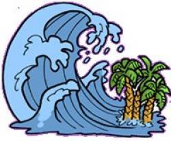 Weaves clipart tsunami