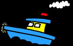 Tugboat clipart