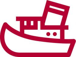 Sailboat clipart tug boat